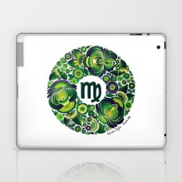 Virgo in Petrykivka style (with signature) Laptop & iPad Skin