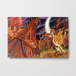 Summoning Tyr Metal Print