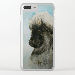 A Tribute to Luca Clear iPhone Case