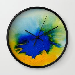 Synergy 1A8 by Kathy Morton Stanion Wall Clock