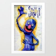 I Am Grover Art Print
