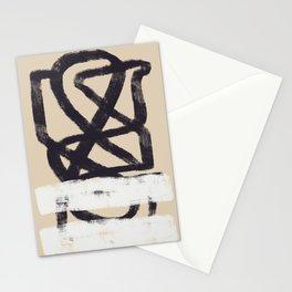 Tubular black Stationery Cards