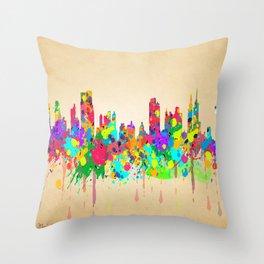 YORK, NEW YORK Throw Pillow