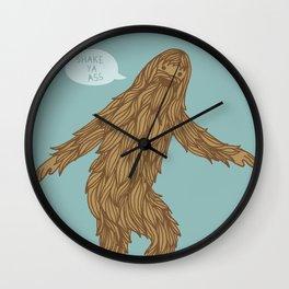 Sassysquatch Wall Clock