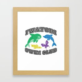Iwatobi Swim Club Framed Art Print