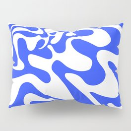 Swirly Whirly: Abstract Pop Art Painting by Bruce Gray Pillow Sham