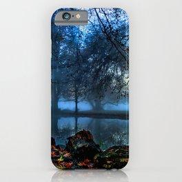 Leaf green iPhone Case