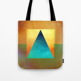 Triangle Composition XIII Tote Bag