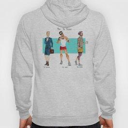 Men in Skirts Hoody