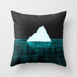 ICEBERG AHEAD! Throw Pillow