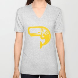 A Whale of Time- Yella Unisex V-Neck