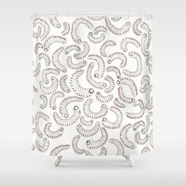 Evolutions - Burrowed Shower Curtain