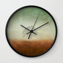 evolving mystery Wall Clock