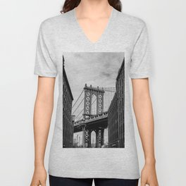 New York Love Unisex V-Neck