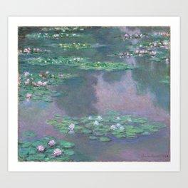 Water Lilies Monet 1905 Art Print