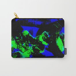 Happy Chaos (Blue & Green) Carry-All Pouch