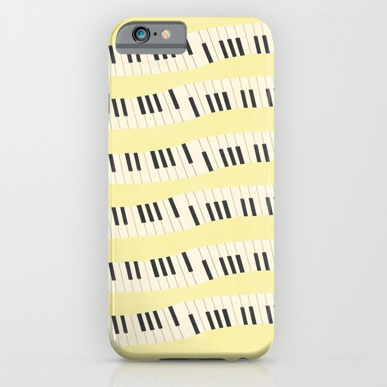 Piano wave iPhone & iPod Case