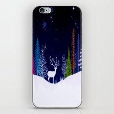 Snowy Night iPhone & iPod Skin