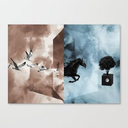 For A Better Day Canvas Print