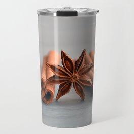 Cinnamon wallpaper Travel Mug
