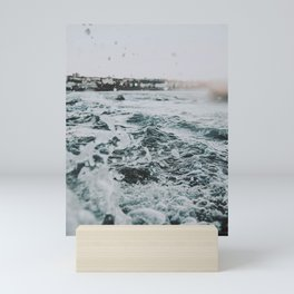 summer waves ii / bondi beach, australia Mini Art Print