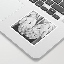 Jesus Hands Sticker