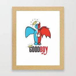 Goodboy Framed Art Print