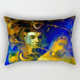 Shiva The Auspicious One - The Hindu God Rectangular Pillow