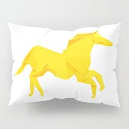 Origami Stallion Pillow Sham