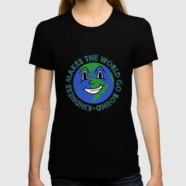 Kindness Makes The World Go Round Anti-Bullying T-shirt