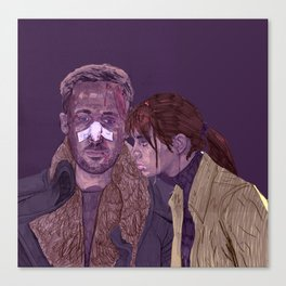 k and joi Canvas Print
