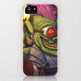 The Firework Maker Goblin iPhone Case