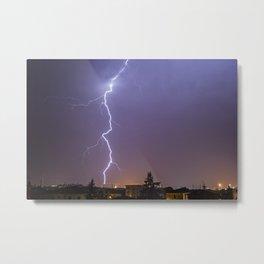 Thunders Metal Print