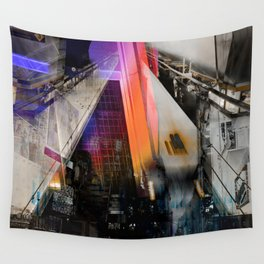Meet me in my smooth city Wall Tapestry