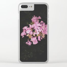 Flashy Pink Clear iPhone Case