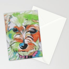 Lilybette The Morkie Stationery Cards