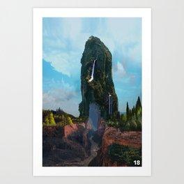 Poster 18 - Monolith Art Print