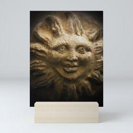Stone sun Mini Art Print