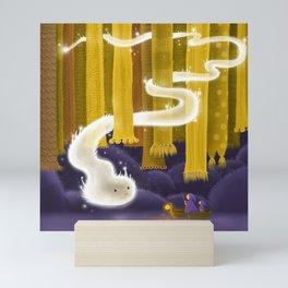 Defender of Huge Scarfs Mini Art Print