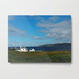 A beach house in Donegal Metal Print