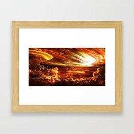 Upsilon Andromeda C Framed Art Print