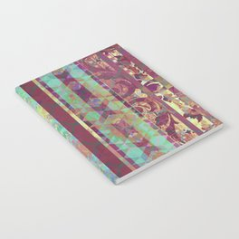 Moroccan Jade and Burnt Sienna Notebook