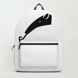 Anteater Face Silhouette Backpack