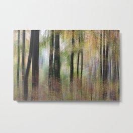 Autumnal Movement Metal Print
