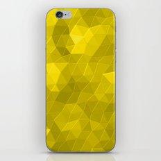 Kaleidoscope Series Yellow iPhone & iPod Skin