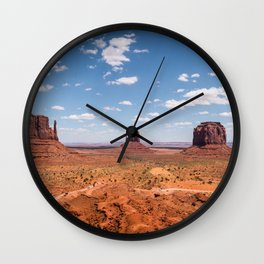Monument Valley, Utah Wall Clock