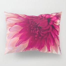 Pink Dahlia Pillow Sham