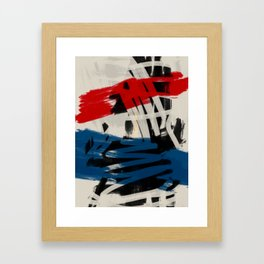 French Expressionist Abstract Art Framed Art Print