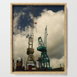 Harbor Crane Serving Tray
