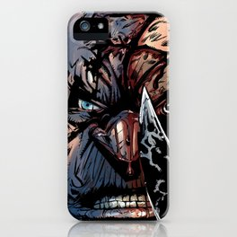 WRATH OF GOD - Seven iPhone Case